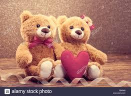 valentines teddy bears valentines day heart teddy bears stock photo