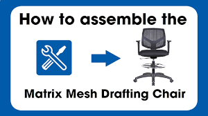 Heavy Duty Tall Drafting Chair by Matrix Drafting Chair Assembly Instruction Youtube