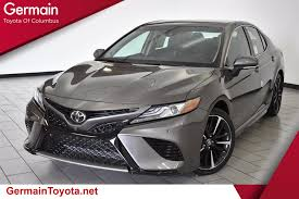 toyota camry new 2018 toyota camry xse 4d sedan in columbus 36089 germain