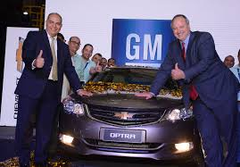 general motors launches its new locally manufactured chevrolet optra