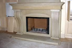 Faux Limestone Fireplace - limestone fireplace surround interior design