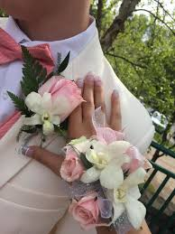 pink corsages for prom prom 2017