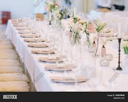 Table Decor For Weddings Wedding Decor Wedding Interior Image Photo Bigstock