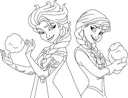 coloring pages frozen elsa frozen elsa and coloring page free coloring pages
