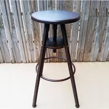 ho simple retro bar chair lift bar stool highchair wood old