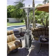 fire sense propane patio heater stunning stainless steel patio heater fire sense pro series 46000