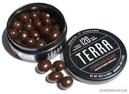 edible cannabis terra espresso beans in chocolate edible review oc review