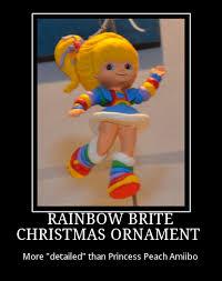 rainbow brite ornament demotivational posters