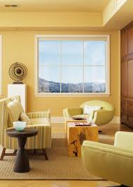 Yellow Living Room Chair Decorating With Yellow Paint Colors Hgtv