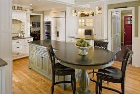 kitchen island with table seating 37 multifunctional kitchen islands with seating big kitchen