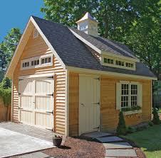 12 u0027x16 u0027 pine harbor cape codder workshop shed deck landscaping