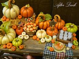 after dark miniatures halloween and fall miniatures