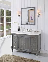 Where To Buy Bathroom Cabinets Brilliant White Shaker Ready To Assemble Bathroom Vanities Realie