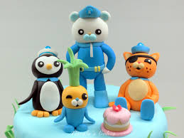octonauts cake topper on birthday cakes the octonauts cake