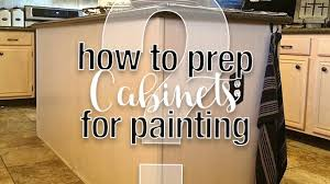 how to prep cabinets for painting prep 101 how to prep kitchen cabinets for fusion mineral