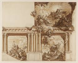 Baroque Ceiling by Sir James Thornhill 1675 Or 76 1734 Tate