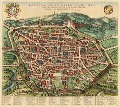 map of bologna antique map of bologna by blaeu mortier sanderus antique maps