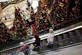 Christmas Decorations Online Myer by Australian Shopping Hours For Christmas Eve Revealed Daily Mail