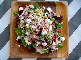 herbed beet and celery salad freshness