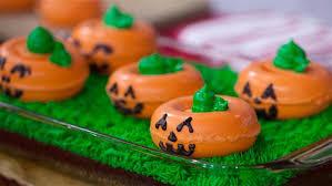 light up pumpkins for halloween light up chocolate brownie pumpkins today com