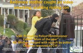 Mother And Son Meme - mother slaps son for taking part in baltimore riots family first nz