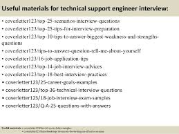 brilliant ideas of sample cover letter technical support engineer