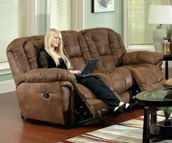 Ashley Reclining Loveseat With Console Microfiber Power Reclining Loveseat Aruba Chocolate Dual Sofa And