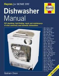 dishwasher manual diy plumbing fault finding repair and