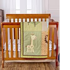 Portable Crib Bedding On Me Reversible Portable Crib Set Safari Animals