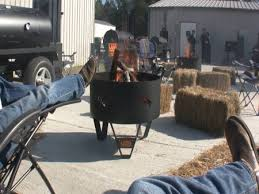 California Fire Pit by Who U0027s Cooking On A Lang Fire Pit In California Lang Bbq Smokers
