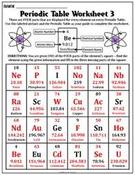 periodic table worksheet for middle worksheet periodic table worksheet 3 periodic table worksheets