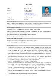 Resume Word Document Resume Document Template