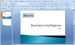 business intelligence powerpoint template creating a business