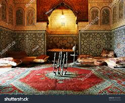 islamic interior architectural details stock photo 95744047