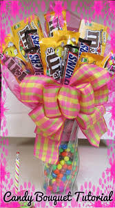 how to make a candy bouquet with m u0026m u0027s and snickers a touch of