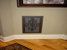 Wrought Iron Decorative Wall Vent Covers — TEDX Designs The