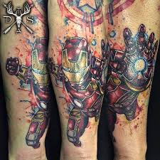 unique watercolor tattoos by danny scott u2013 staciemayer com