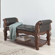 Teak Wood Bed Designs White Study Desk Near Beds Storage Bench For Bedroom Beige Wall