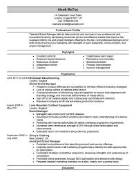 Property Management Resume Entry Level Hr Resume Resume Objective For Entry Level Human
