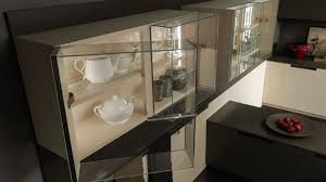 modern kitchen cabinet glass door glass cabinets kitchen cabinets with glass doors pedini miami