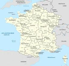 France Regions Map by File France Administrative Divisions Departments Regions