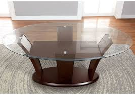 glass top l table furniture ville bronx ny manhattan l oval glass top dining table