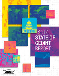 2016 state of geoint report