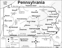 map of williamsport pa pennsylvania map quiz printout enchantedlearning com