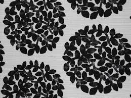 black and white fabric pattern fabric texture leafy ball pattern black white cloth abstract