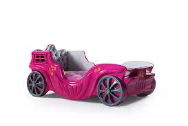 Car Bed For Girls by Childrens Pink Princess Car Bed For Girls Bed Frame