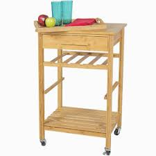clevr rolling bamboo kitchen island storage bakers cart wine rack