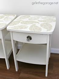 Pretty Tables pretty in paisley romance themed furniture makeover in