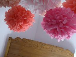 Frugal Flowers - the simple wife frugal friday on saturday tissue paper flowers