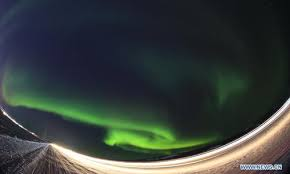 northern lights canada 2017 amazing northern lights over yellowknife canada global times